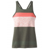 prAna Alois Top Womens, Forest Heather Stripe, Large
