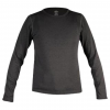 Hot Chillys Youth Pepper Bi-Ply CREWNECK, Black, L