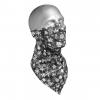 Hot Chillys Micro-Elite Chamois Print Bandana w/ Mask - Unisex, Snowy Night, Small/Medium