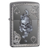 Zippo Spade and Skull Design Lighter w/ Box
