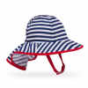 Sunday Afternoons Infant Sun Sprout Hat, Navy/White Stripe, Infant