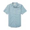 Billabong All Day Helix Short Sleeve Shirt - Men's, Washed Blue, Large