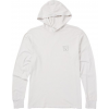 Billabong Stacked Hooded Long Sleeve T-Shirt - Men's, Silver, Large