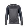 Marmot Boys Windridge W/ Graphic Long Sleeve T-Shirt, Slate Grey/Black, Extra Small