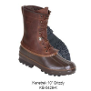 Kenetrek 10 in. Grizzly Boots, Brown, Pac with K-Talon Tread, 5.0 Medium  05.0MED