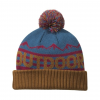 Outdoor Research Mainstay Beanie - Kids, Peacock/Saddle, One Size