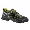 Demo, Salewa Wildfire S GTX Approach Shoe - Men's-Black/Citro-Medium-9 US