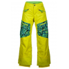 Marmot Boys Freerider Pant, Sulphur/Vibrant Green Shred, XL