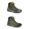 Asolo NUCLEON MID GV Hiking Shoe - Mens, Graphite/Yellow, 8.5,  0014700085