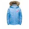 Spyder Bitsy Lola Jacket - Kids, Blue Ice/Taffy Pink, 5