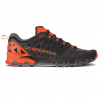 La Sportiva Bushido Ii Trailrunning Shoes   Mens, Carbon/Tangerine, 40.5