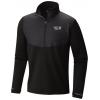 Mountain Hardwear 32 Degree Insulated 1/2 Zip Midlayer   Men's, Black, Small