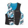 Airhead Camo Cool Mens Kwik-Dry Neolite Vest, Blue