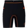 La Sportiva Freedom Tight Short - Men's-Black/Flame-Large