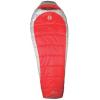 Coleman Women's Silverton Mummy Sleeping Bag, 25 Deg, 2-Way Zipper, Red/Gray, 72x30in