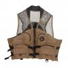 Airhead Deluxe Mesh Top Fishing Vest, Bark, Small/Medium