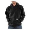 Carhartt Midweight Hooded Pullover Sweatshirt - Men's-Black-Regular-XX-Large