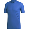 Adidas Outdoor Agravic Parley Tee - Men's, Blue Beauty, 2XL