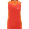 Salomon Trail Runner Tank - Women's-Orange Feeling/Nectarine-X-Large