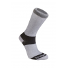 Bridgedale Liner Base Layer COOLMAX Liner Boot Socks, 2-Pack, Mens, Grey, Medium