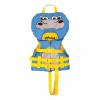 Airhead Hippo Infant Life Vest, Blue/Yellow