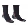 Bridgedale Lightweight Coolmax Performance Boot Socks, Mens, Navy/Red, Large