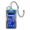DryPak Cell Phone Case, 4 x 6, Blue, Blue, 1 Year Mfg Warranty, Tpu/Pp, DP-45563