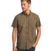 prAna Broderick Short Sleeve Shirt - Men's, Chambray Blue Cactus, Large