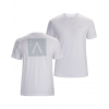 Arc'teryx A Squared T-Shirt with Short Sleeve - Mens, White, Large