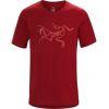Arc'teryx Archaeopteryx T-Shirt with Short Sleeve - Mens, Red Beach, Large