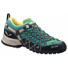 Demo, Salewa Wildfire Vent Approach Shoe - Women's-Carbon/Assenzio-Medium-7 US