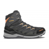 Lowa Innox Pro GTX Mid Hiking Shoe - Mens, Black/Orange, Medium, 10