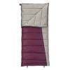 Slumberjack Jenny 20 Womens Reg RH Sleeping Bag, 80 x 34 in, Purple