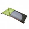 Slumberjack Forest 0 Reg RH Sleeping Bag, 80 x 34 in, Black/Gray