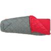 Big Agnes Cross Mountain 45 Sleeping Bag (Synthetic) Gray Regular Left