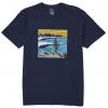 Billabong La Fonda Short Sleeve Tee - Mens, Navy, Small