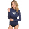 Roxy Whole Hearted Ls - Women's, Medieval Blue, Medium