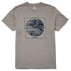 Billabong La Punta Short Sleeve T-Shirt - Mens, Dark Grey Heather, 2XL