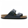 Birkenstock Arizona Soft Footbed Oiled Nubuck Leather Sandals - Women's, Blue Oild Leather, Medium, 37