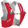 CamelBak Ultra Pro Vest, Crimson Red/Lime Punch, Large - 1L/34 fl oz