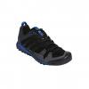 Adidas Outdoor Men's Terrex Solo Hiking Shoes, Black/Black/Blue Beauty, 11 US