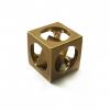 Flytanium FlyCube, Brass Antique Stonewash