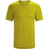 Arc'teryx Emblem T-Shirt with Short Sleeve - Mens, Midnight Sun, Large