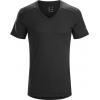 Arc'teryx A2B V-Neck Shirt Short Sleeve - Mens, Black, Small