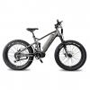 QuietKat Fat Tire Ridgerunner Electric Bike, Charcoal, Medium 17in Frame