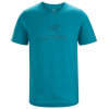 Arc'teryx Arc'Word Short Sleeve T-Shirt - Men's, Dark Firoza, Extra Large