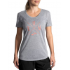 Brooks Distance Short Sleeve Running Shirt - Women's, Heather Ash/Run, S