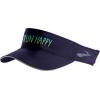 Brooks Run Happy Chaser Visor - Womens, Navy, One Size, 010