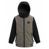 Burton Gameday Jacket - Kid's, Bog Heather / True Black, Large