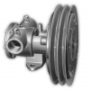 """Jabsco 1-1/4 Electric Clutch Pump - Double A Groove Pulley - 12V"""